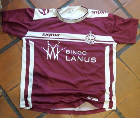 Camiseta Futbol Lanus Signa Bingo Lanus