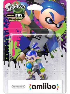 Nintendo Splatoon Amiibo Inkling Boy Azul