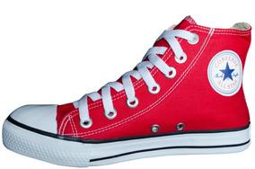 d17ffb24c99 All Star Cano Alto Vermelho - Converse Casuais no Mercado Livre Brasil
