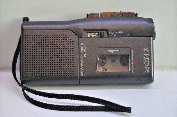 Sony Microcassette Gravador M-529v Venda No Estado