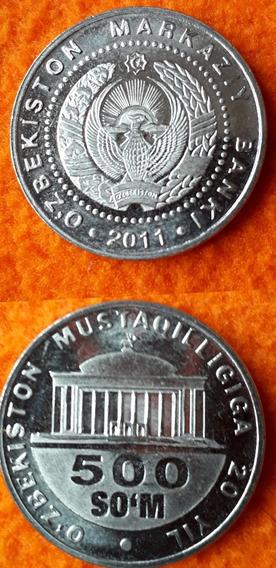 Moneda De Uzbekistan Año 2011 Sin Circular