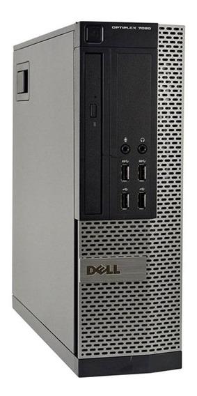 Cpu Dell Sff 7020 Core I3 4ªg 8gb Ssd 120gb Promoção