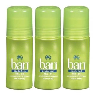 Ban Rollon Desodorante En Polvo Fresco 15 Oz 3
