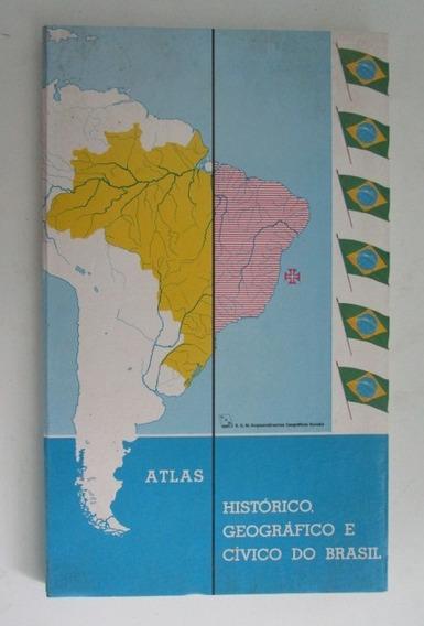 Atlas Histórico, Geográfico E Cívico Do Brasil - Michalany