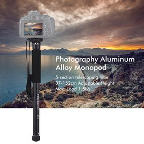 Yunteng Yt-218 Portátil Fotografia Monopé Liga Alumínio