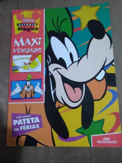 Revista Rara Disney Pateta Em Ferias