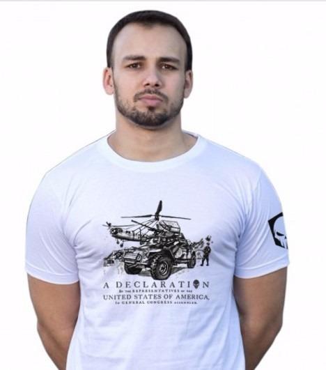 Camiseta Vintage Branca