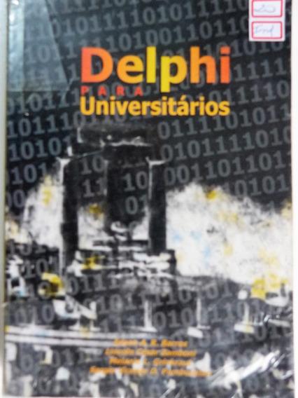 Livro: Delphi Para Universitários Edson A. R. Barros