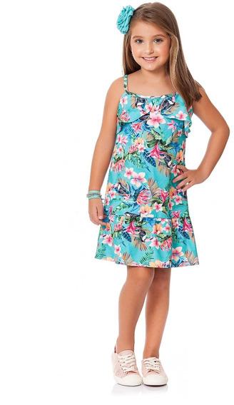 Roupa Infantil Menina - 3 Vestidos - Tamanhos 1, 2 Ou 3