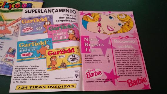 Lote De 3 Revistas Da Barbie Mattel 1994 21,22,26