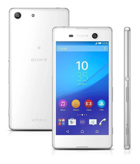 Sony Xperia M5 E5643 Dual Branco 21.5mp, 16gb [vitrine]
