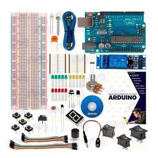 Kit Básico Arduino Uno R3 + Curso
