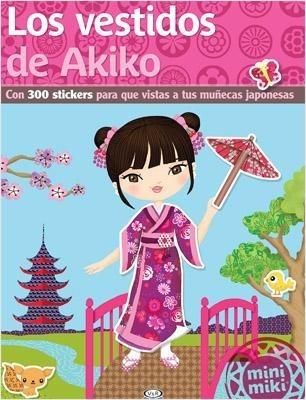Vestidos De Akiko V&r Editoras Calcomanías Muñecas Japonesas