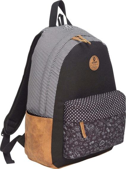 Mochila Xtrem Bondy 810 Backpack Black Doodle