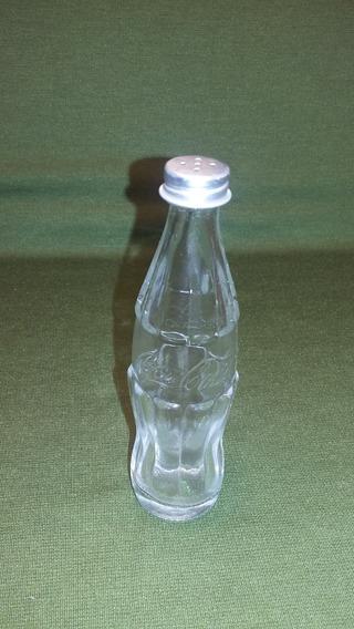 Botellita Salero De Vidrio Coca Cola Argentina