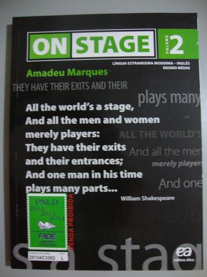 Livro Inglês On Stage 2 - Ensino Médio - Com Cd
