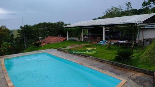Imagem 1 de 9 de Chácara Com 2 Dormitórios À Venda, 7500 M² Por R$ 650.000,00 - Santana - São José Dos Campos/sp - Ch0640