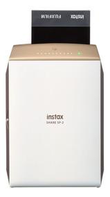 Impressora Instax Para Smartphone Fujifilm Share Sp2 Dourada