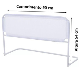 Grade De Cama Box - Bebês Idosos - Promoção 90cm X 54cm 2019