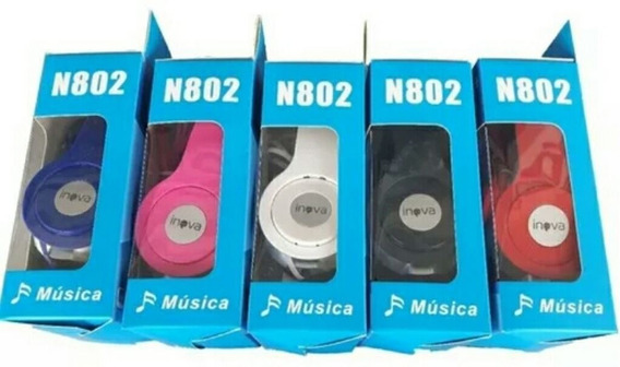 Fone De Ouvido Headphone Inova N802