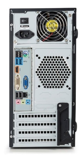 Desktop Positivo D480 I5,8gb,500hd,win 7 Pro, 3 Anos Gara