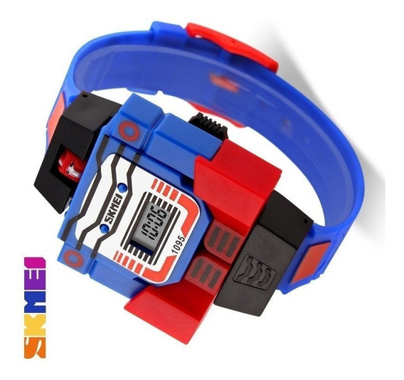 Relógio Transformers Optimus Prime - Exclusivo!!!