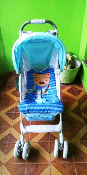 Carrinho De Bebê Voyage Fit - Azul Puppy