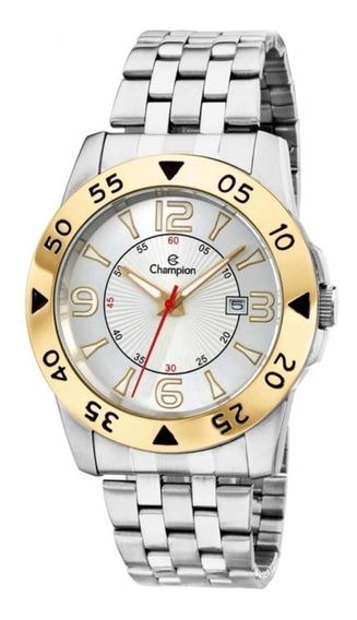 Relógio Champion Masculino Dourado Ca30230s