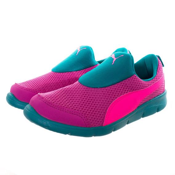 Tênis Puma Bao 3 Mesh Infanto Juvenil Pink