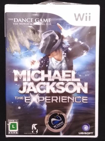 Michael Jackson The Expirience Nintendo Wii Original.
