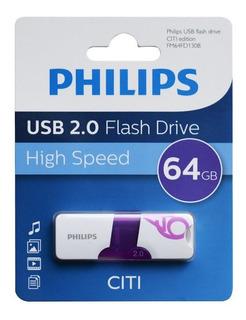 Pendrive Philips Citi 64gb Usb Oferta Loi
