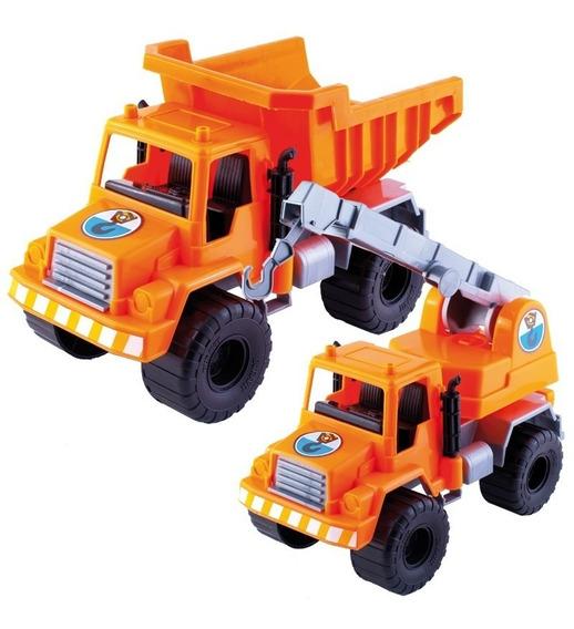 Duravit Camion Set De Carga C/volquete Y Guinche