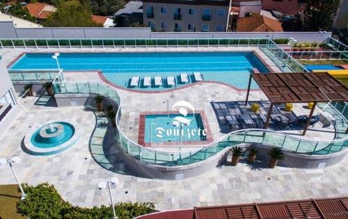 Apartamento Com 2 Dormitórios À Venda, 83 M² Por R$ 670.000,00 - Vila Scarpelli - Santo André/sp - Ap16219
