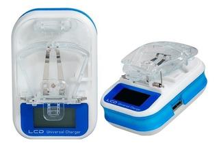 Cargador Universal Led Para Baterias Celular Mp3 Mp4 8694