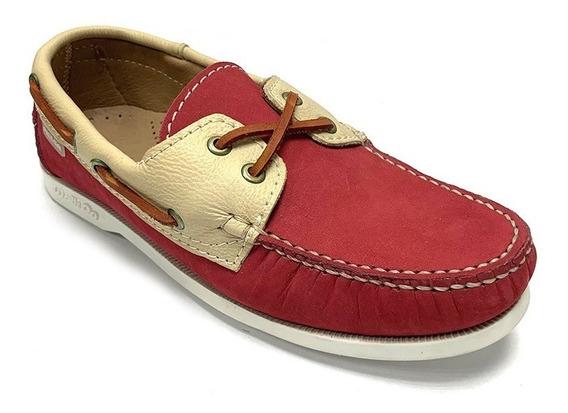 Zapatos Nauticos Pielsa Dama Marrón Pi 0009 Corpez 44