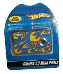 Webcam Câmera Digital Hot Wheels 1.3 Mega Pixels 8 Mb K1047