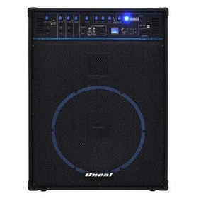 Caixa Amplificada Oneal 15 Ocm1090bt 150w/rms Sd/fm/mp3/bt