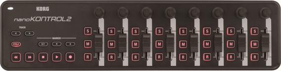 Controlador Korg Usb-midi - Mod. Nanokontrol2-bk