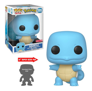 Funko Pop! Pokemon - Squirtle 10 Pulgadas (41241) - (505)