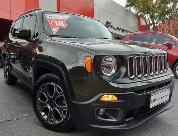 Jeep Renegade 1.8 16v Flex Longitude 4p Automático 2017/2018