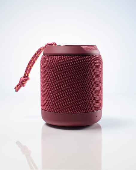 Bocina Portátil Brv-mini Waterproof Con Bluetooth Rojo