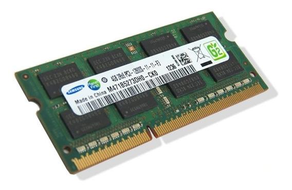 Tarjeta / Memoria Ram 4gb Ddr3 1333mhz Para Laptop ( 20v )
