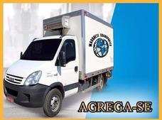 Agrega-se Veículo Refrigerado Hr Iveco Caminhão - Urgente