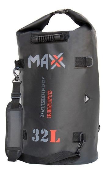 Saco Estanque Para Moto 32 Litros Aventura Camping E Pesca