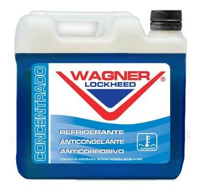Liquido Anticongelante Wagner Lockheed 5 Litros Azul  Concen