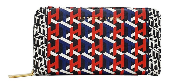 Cartera Tommy Hilfiger Logan Multicolor