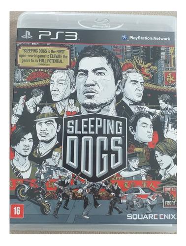 Sleeping Dogs - Ps3 - Cd Estado De Novo
