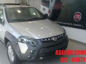 Fiat Strada 1.6 Adventure $45.000 Entrega Inmediata!!
