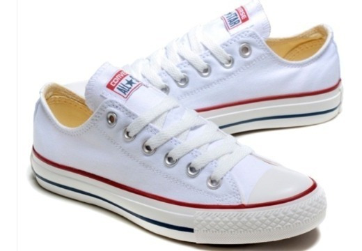 Zapatos Converse Blanco All Star Damas