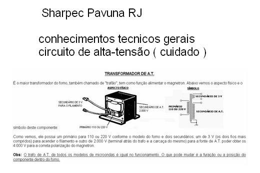 Transformador Alta Tensão Microondas Temos Varios